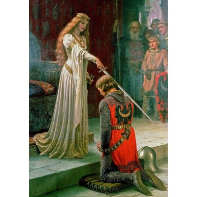 Art-Puzzle-5209 The Accolade, 1901
