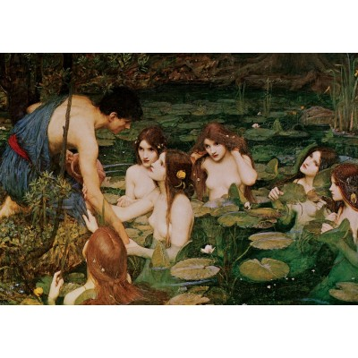 Art-Puzzle-5377 Hylas And The Nymphs, 1896