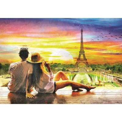 Art-Puzzle-5382 Romance in the Sunset