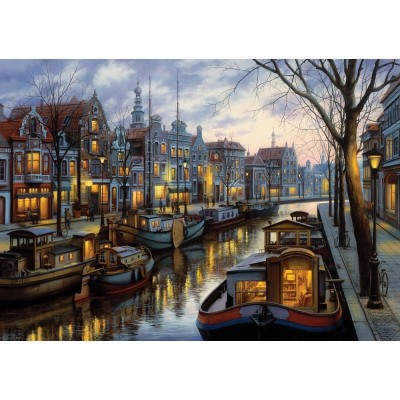 Art-Puzzle-5389 The Light of the Canal