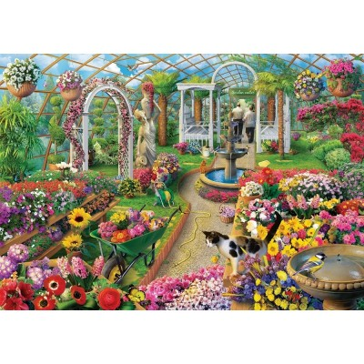 Art-Puzzle-5390 The Colors of Greenhouse