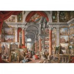 Art-Puzzle-5479 Gallery With Views of Modern Rome, 1757