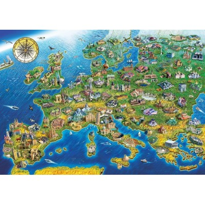 Art-Puzzle-5484 Wonders of The World