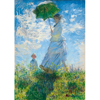 Art-by-Bluebird-60039 Claude Monet - Woman with a Parasol - Madame Monet and Her Son