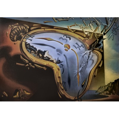 Art-by-Bluebird-60104 Salvador Dalí - Soft Watch Exploding in 888 Particles after Twenty Years of Total Immobility, c. 195