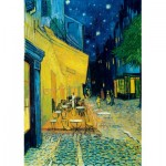Art-by-Bluebird-Puzzle-60005 Vincent Van Gogh - Café Terrace at Night, 1888