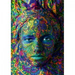 Art-by-Bluebird-Puzzle-60010 Face Art - Portrait of woman