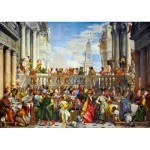 Art-by-Bluebird-Puzzle-60011 Paolo Veronese - The Wedding at Cana, 1563