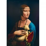 Art-by-Bluebird-Puzzle-60012 Leonardo Da Vinci - Lady with an Ermine, 1489