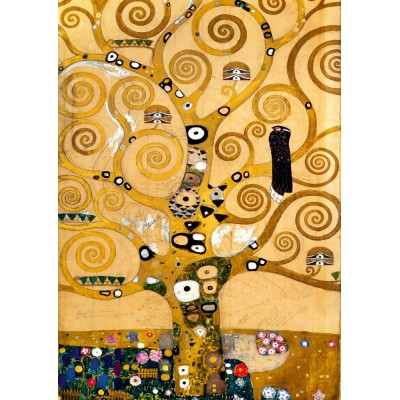 Art-by-Bluebird-Puzzle-60018 Gustave Klimt - The Tree of Life, 1909