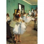 Art-by-Bluebird-Puzzle-60046 Degas - The Dance Class, 1874