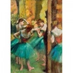 Art-by-Bluebird-Puzzle-60047 Degas - Dancers, Pink and Green, 1890