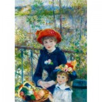 Art-by-Bluebird-Puzzle-60050 Renoir - Two Sisters (On the Terrace), 1881