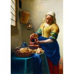 Art-by-Bluebird-Puzzle-60066 Vermeer- The Milkmaid, 1658