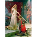 Art-by-Bluebird-Puzzle-60071 Edmund Blair Leighton - The Accolade, 1901
