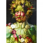 Art-by-Bluebird-Puzzle-60074 Arcimboldo - Rudolf II of Habsburg as Vertumnus, 1590