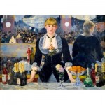 Art-by-Bluebird-Puzzle-60080 Édouard Manet - A Bar at the Folies-Bergère, 1882