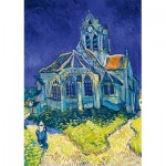 Art-by-Bluebird-Puzzle-60089 Vincent Van Gogh - The Church in Auvers-sur-Oise, 1890