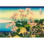 Art-by-Bluebird-Puzzle-60093 Katsushika Hokusai - Shinagawa on the Tokaido, 1832