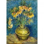 Art-by-Bluebird-Puzzle-60114 Vincent Van Gogh - Imperial Fritillaries in a Copper Vase, 1887