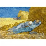 Art-by-Bluebird-Puzzle-60115 Vincent Van Gogh - The siesta (after Millet), 1890