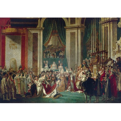 Art-by-Bluebird-Puzzle-60128 Jacques-Louis David - The Coronation of the Emperor and Empress, 1805-1807