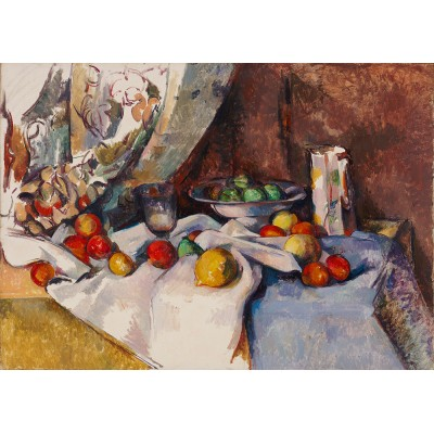 Art-by-Bluebird-Puzzle-60132 Paul Cézanne - Still Life with Apples, 1895-1898