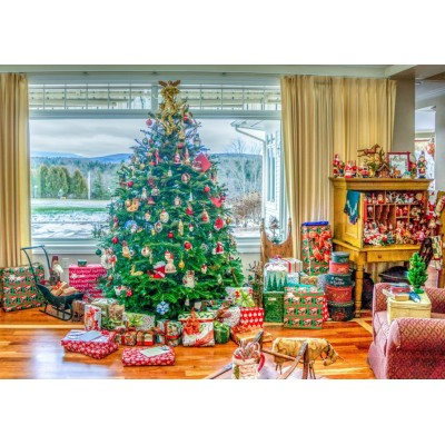 Bluebird-Puzzle-70019 Christmas at Home
