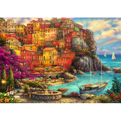 Bluebird-Puzzle-70055 A Beautiful Day at Cinque Terre