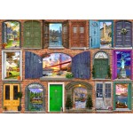 Bluebird-Puzzle-70116 Doors of USA