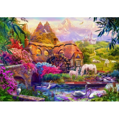 Bluebird-Puzzle-70146 Old Mill
