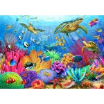 Bluebird-Puzzle-70159 Turtle Coral Reef