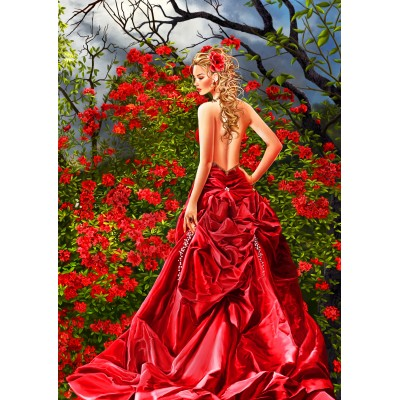 Bluebird-Puzzle-70276 Tais in Red