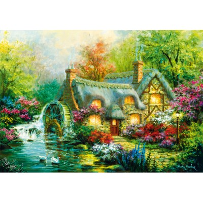 Bluebird-Puzzle-70303-P Country Retreat