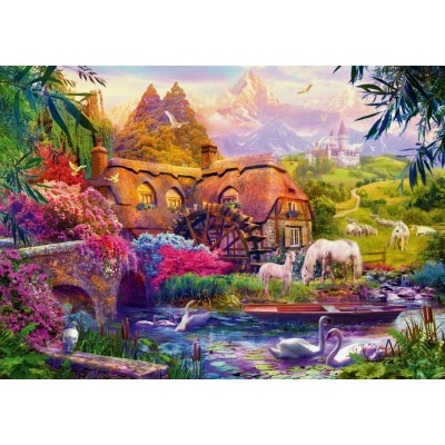 Bluebird-Puzzle-70305-P Old Mill