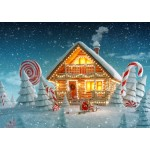 Bluebird-Puzzle-70365 Christmas Cottage