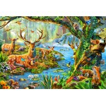 Bluebird-Puzzle-70385 Forest Life