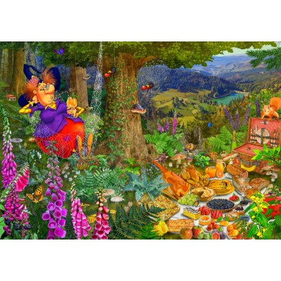Bluebird-Puzzle-70418 The Witch Picnic