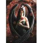 Bluebird-Puzzle-70437 Anne Stokes - Angel Rose