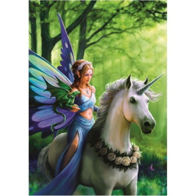 Bluebird-Puzzle-70440 Anne Stokes - Realm of Enchantment