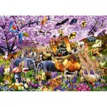Bluebird-Puzzle-70495-P Two By Two at Noah's Ark