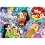 Clementoni-26995 Disney Princess