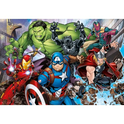 Clementoni-29107 Marvel The Avengers