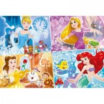 Clementoni-29294 Disney Princess