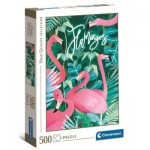 Clementoni-35101 Flamingoes
