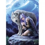 Clementoni-39465 Anne Stokes - Protector