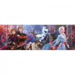Clementoni-39544 Disney Panorama Collection - Disney Frozen 2