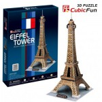 Cubic-Fun-C044H Puzzle 3D - Paris : Tour Eiffel