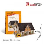 Cubic-Fun-W3126H Puzzle 3D World Style - Welcome to Germany