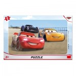 Dino-30133 Puzzle Cadre - Cars Racing